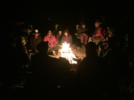 A Campfire Gathering of Beautiful People